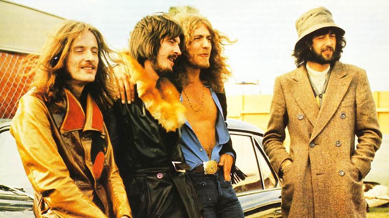 1970's British rock band Led Zepplin