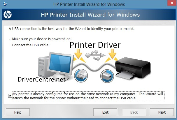 Driver HP LaserJet 8000 series printer