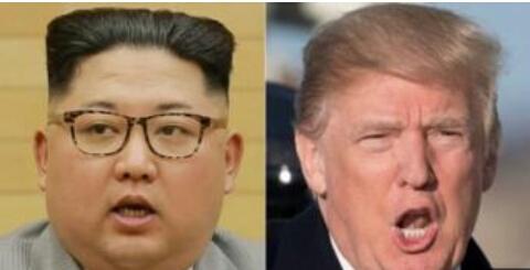 Za'a Gana Tsakanin Trump Da Kim Jong Un A Karo Na Farko