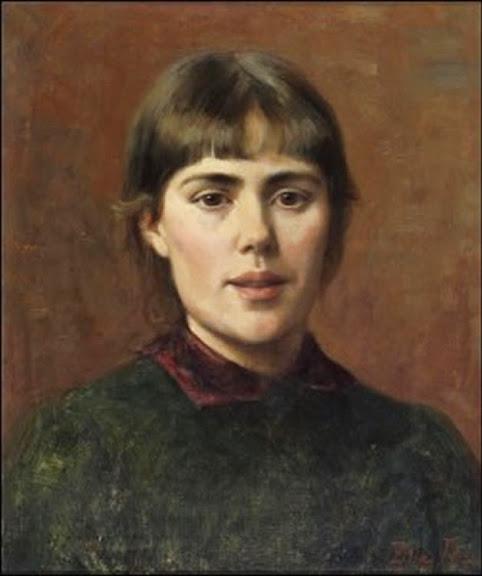 Elin Danielson-Gambogi - Self Portrait.