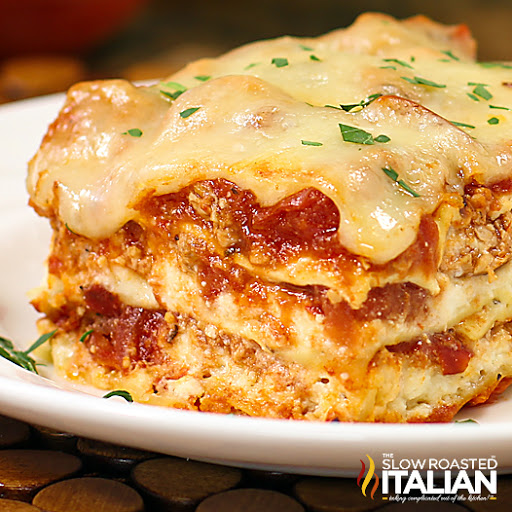 Easy Cheesy Chicken Lasagna