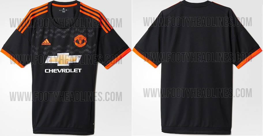 premium selection 07592 bf3a7 New Adidas Manchester United 2015-16 Kits Officially Released