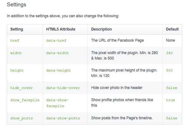 API-facebook-page-plugin