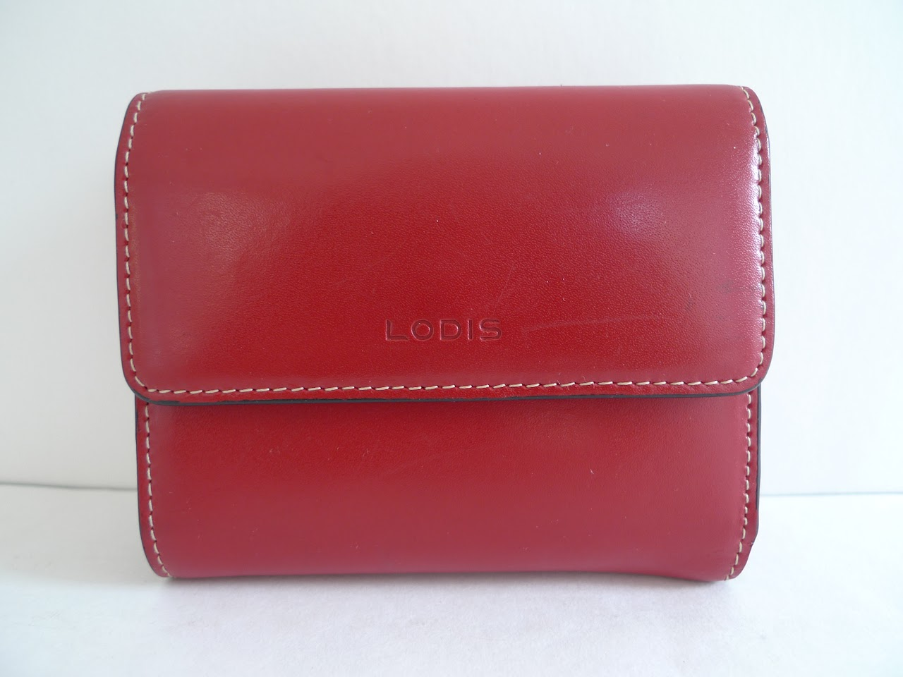 Lodis Red Wallet