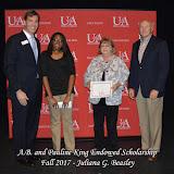 Fall 2017 Foundation Scholarship Ceremony - A.B.%2Band%2BPauline%2BKing%2BEndowed%2BScholarship.jpg
