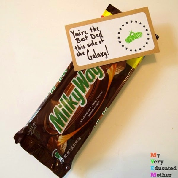 Milky Way Gift Idea using PSA Essentials stamps