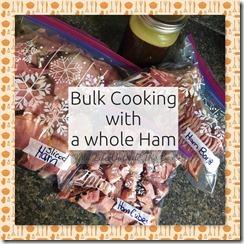 Bulk Cooking Ham