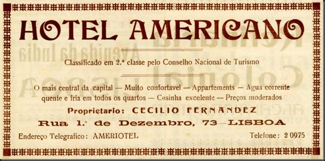 1934 Hotel Americano