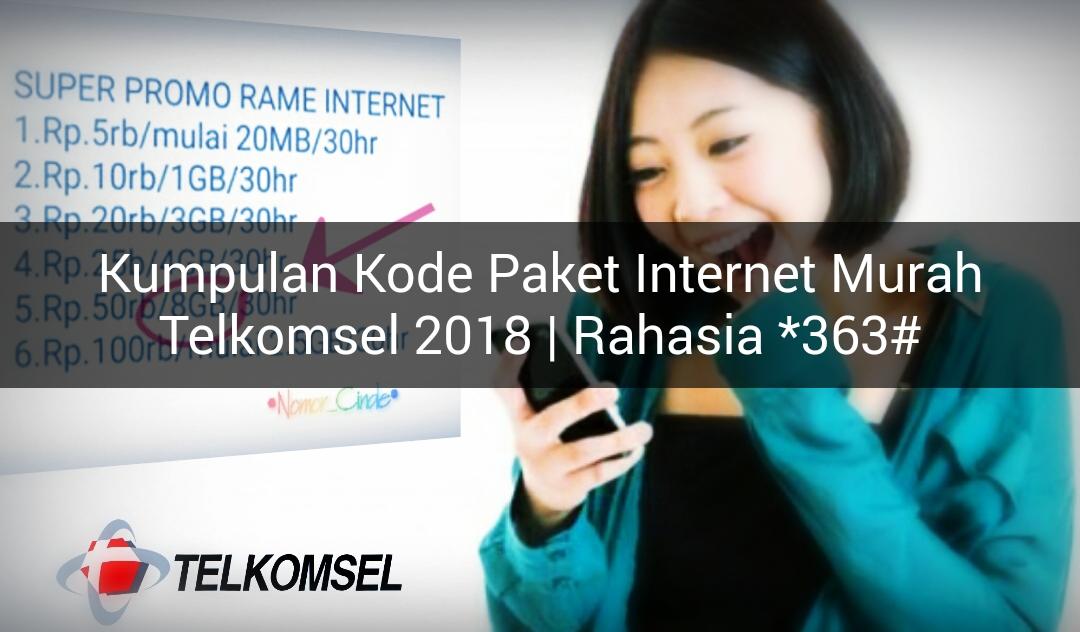 Paket Internet Murah Telkomsel Yang Tidak Ada Di 363 Nomor Cinde