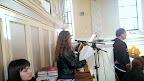 Kristínka spieva žalm