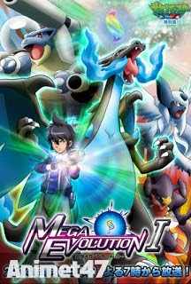 Pokemon XY: Mega Evolution -  2015 Poster