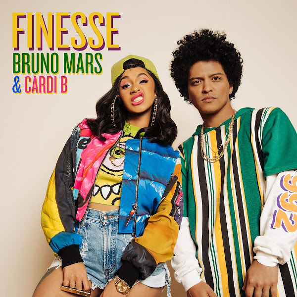 Bruno Mars - Finesse (feat. Cardi B) [Remix] - Single Cover