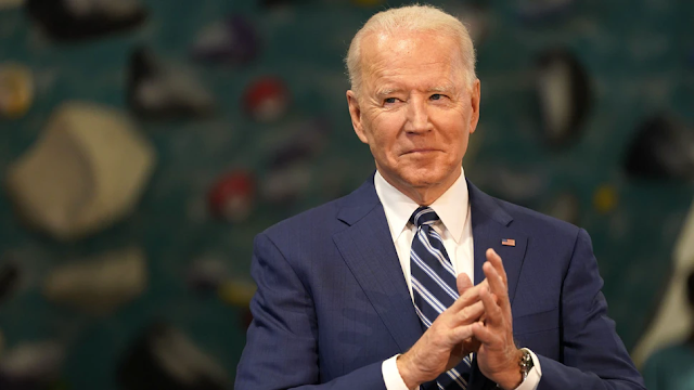 Biden Slammed After Making 'Creepy' Comment About How Young Woman Was Sitting, Her Legs
