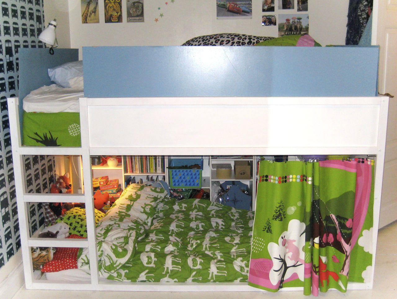 ikea hack cama kura de 140cm de ancho baby deco. Black Bedroom Furniture Sets. Home Design Ideas