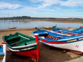 Fishing boats, Alvor