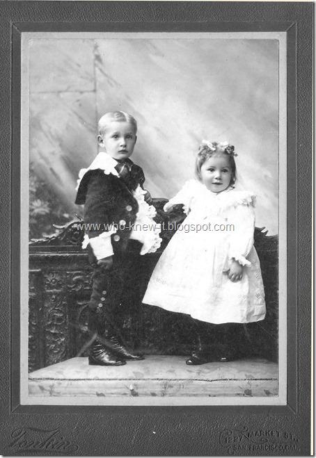 Ast, Herman and Bertha abt 1900