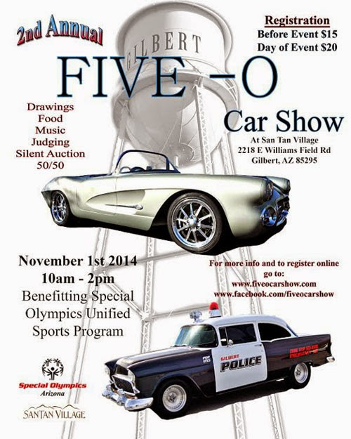 Gilbert Event Five-O Car Show 2014