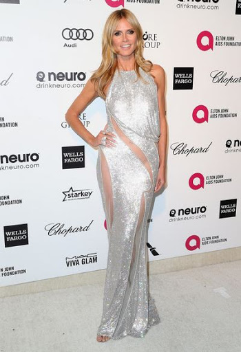 Heidi Klum Height