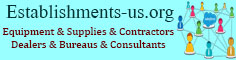 Nonclassified establishments, Equipment, Supplies, Contractors, Dealers, Bureaus, Consultants