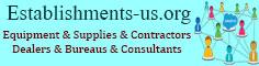 Nonclassified establishments, Equipment, Supplies, Contractors, Dealers, Bureaus, Consultants