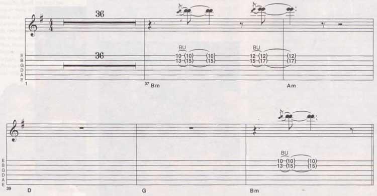 Carlos Santana Samba Pa Ti Tab 1