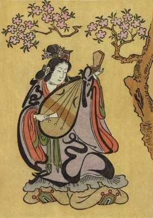 Goddess Benzai Ten Image