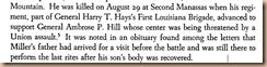 Robet H. Miller's Death