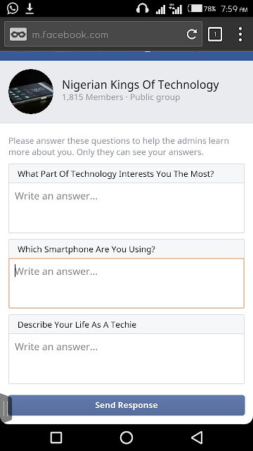 Facebook Now Lets Group Admins Set Interview Questions For Prospective Members 3