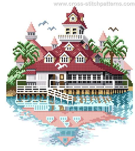 Hotel del Coronado Boat House chart