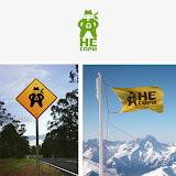 Плакат на экологическую тему про горы Не сори