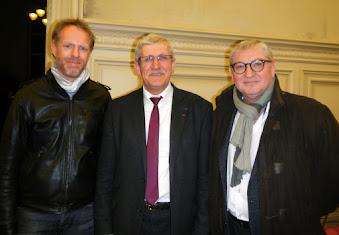 Aurélien Lazeiras Emile Roger Lombertie Patrice Duloisy Voeux 2017