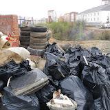 """Собранный мусор вывезен ТСЖ """"Кристалл"""" в тот же день"""