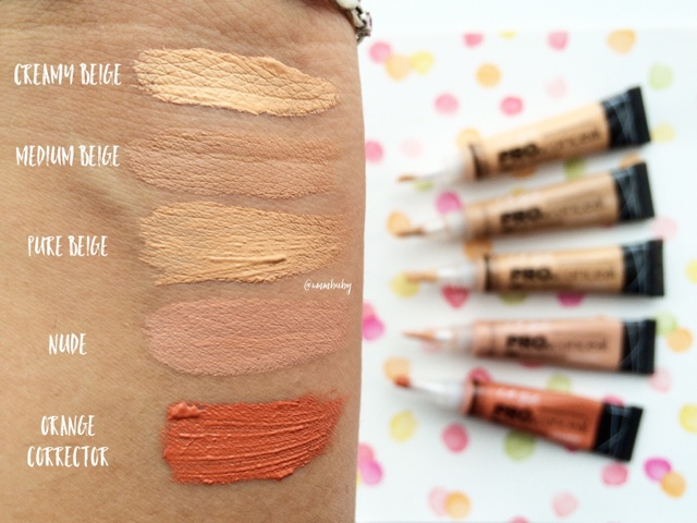 Review | L A  Girl Pro Conceal HD Concealer - UmmBaby Beauty