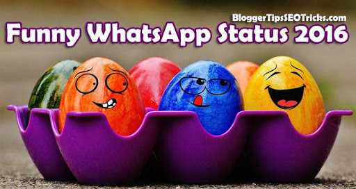 WhatsApp Status funny in 2016