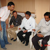 Demonstration of Amateur Radio Satellite communication to Mr Annadurai and Mr Raghavamurthy - DSC00141.JPG