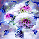 Blue White Flower LWP Download for PC Windows 10/8/7