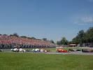 First corner after start of 2007 F1 GP of Italy