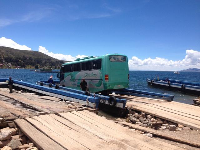 Lake Titicaca to La Paz bus