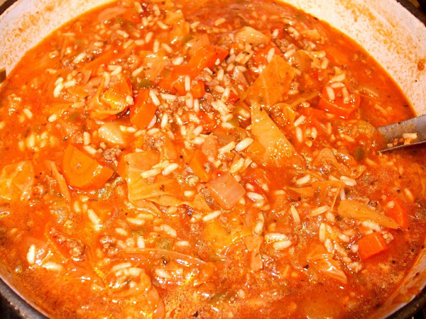 Cabbage Roll Soup - Awesome! Recipe