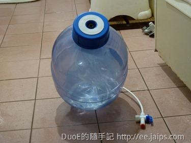 RO壓力桶拆除出入水開關接頭