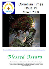 Cover of Correllian Times Emagazine's Book Issue 19 March 2008 Blessed Ostara