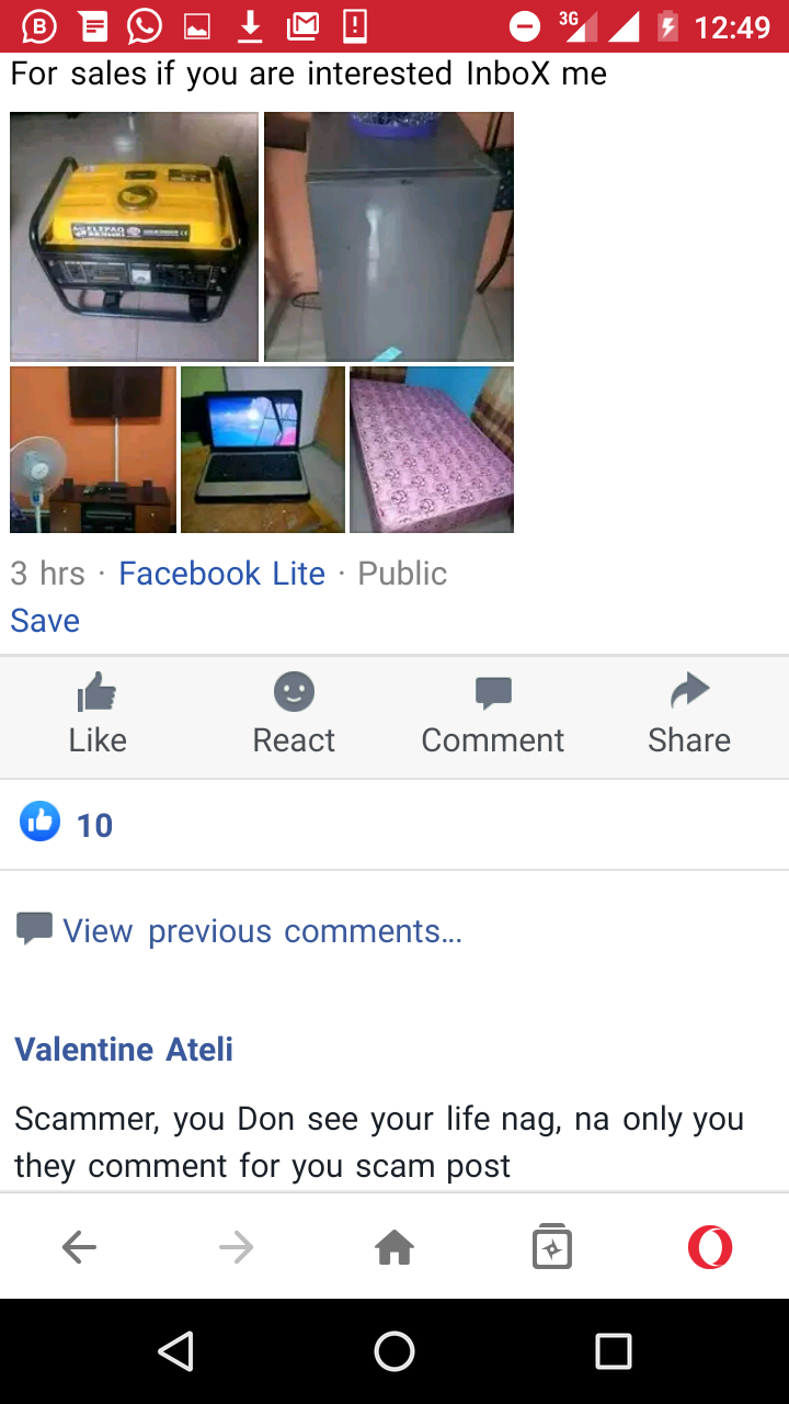 Scammers Who Sell One Product Every Year on Facebook