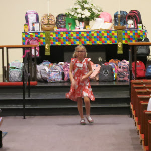 Aug. 21, 2016 Blessing of the Backpacks