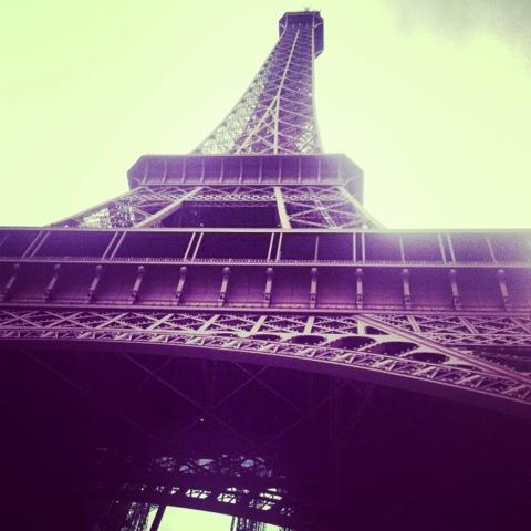 The Eiffel Tower, La Tour Eiffel, Paris, France www.thebrighterwriter.blogspot.com
