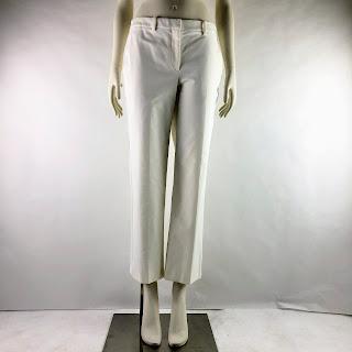 Theory Stretch White Pants