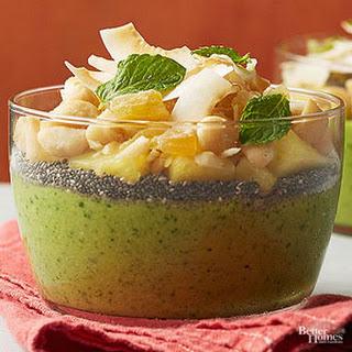 Tropical Fruit Smoothie Bowls Recipe