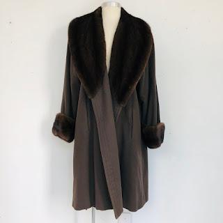 Valentino Couture Furs Coat