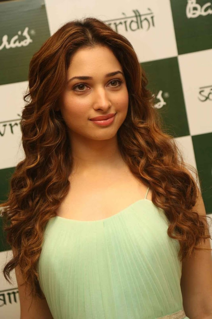 Tamanna Pictures in Banjara's Hair oil promo Event