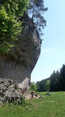 Weißenstein, pretty steep