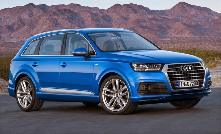 Next-gen 2016 Audi Q7 Redesign, Specs and Press Release